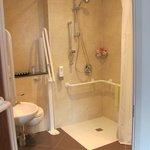 Accesible bathroom, Room 214