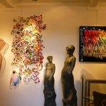 Galerie sur la Place des Vosges