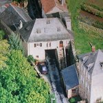 B&B ideally situated in the heart of an historical village