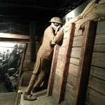 WWI Trench Display