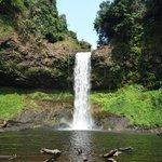 own waterfall E-tu and swimming pool 3