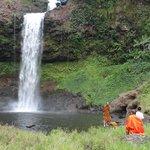 own waterfall E-tu and swimming pool 4