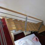 Letto al piano inferiore sotto il soppalco/ double bed under the mezzanine