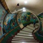 Inside Dragon & Tiger Pagoda