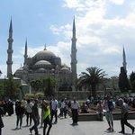Praticamente sotto Moschea Blu