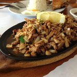 Sizzling Chicken and Pork Sisig