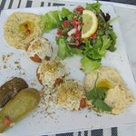 Their falafel plate