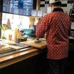 Sushi being made fresh at North End Fish Market