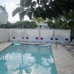Front Pool area known as the
