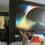 The weirdest hotel room I´ve ever been in