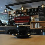 Excellent coffee in congenial surroundings