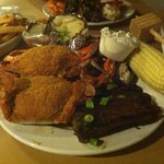The Red Roost platter