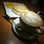 Very good latte...!