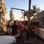 The Albergo del Senato's rooftop bar