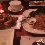 Grilled King Prawns & Pad Thai