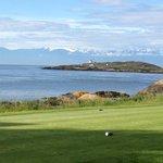 Golfing at Victoria Golf Club next door