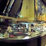 huge open view kitchen