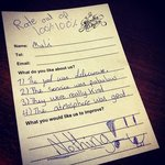 comment from our lovely little customer ^__^