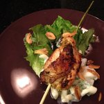 If you love oriental food, here is Chicken lemongrass salad