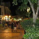 Skiathos Town at night