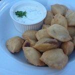 dumplings, very crunchy