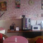 Tea Room amenities