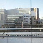 部屋から新幹線