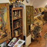 Prague Tapestry Shop handbags and cushion covers