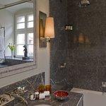 Bathroom Marble Detail