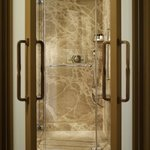 Bathroom a Walk-In Shower Detail