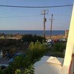 panorama dalla camera (Hotel Aris)