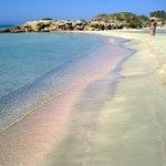 Spiaggia di Elafonissi (sabbia rosa!)
