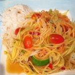 Papaya Salad,...Slap your mama HOT!!