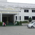 Marriage hall in front of the hotel
