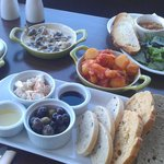 "Lovely lunchtime ""tapas"" style food"
