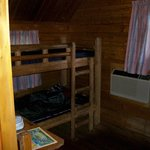 Back bedroom with bunkbeds