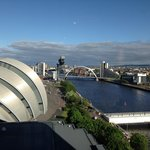 Down the Clyde on one of Scotland's few sunny days lol