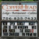 Copperhead Sign