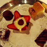 Petit Fours with love from the chef