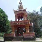 Dans l'enceinte du Temple