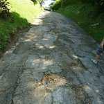 Access Road in disrepair