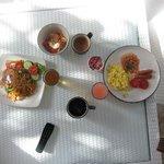 Breakfast, pretty yummy