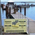 Marina and boat launch