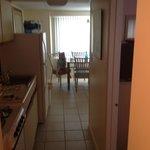 1 bedroom, kitchen
