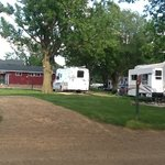 "Our ""Born Free"" rig parked in site #16 at Rustic Barn Campground."