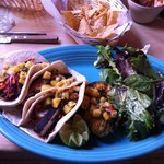 Swordfish tacos - excellent!