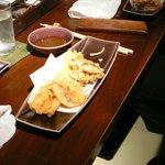 plat de tempura au Tsunahachi