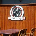 Patio at The Wigan Pier