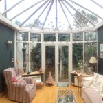 Conservatory just off the dining area