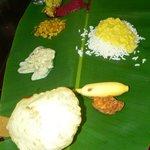Repas traditionnel du Kérala